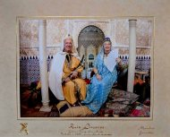 The Sultan and his wife