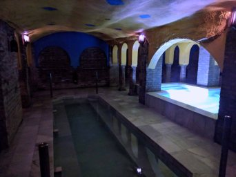 Arab Baths - the warm pool