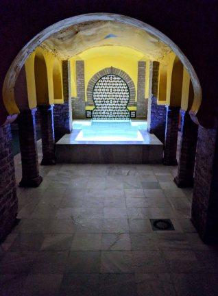 Arab Baths - the cold pool