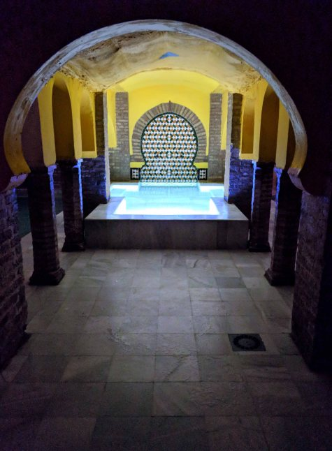 Arab Baths - the cold pool