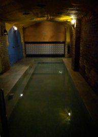 Arab Baths - the hot pool