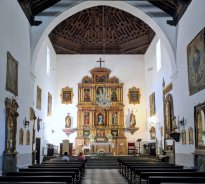 Encarnación Church Nave