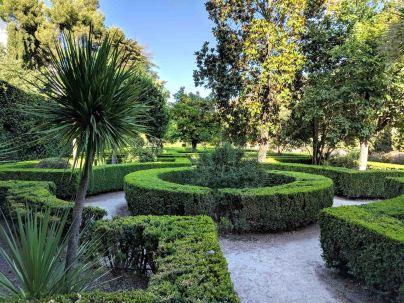 The gardens of La Casa Morisca