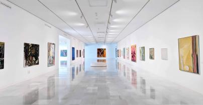 The main corridor of the art gallery at the Museu Memoria de Andalusia