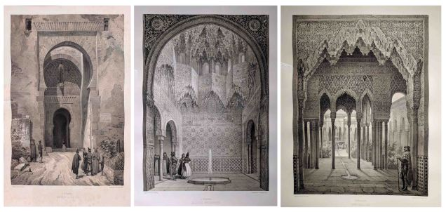 Lithographs by Asselineau