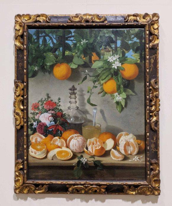 Still life of oranges (1863)