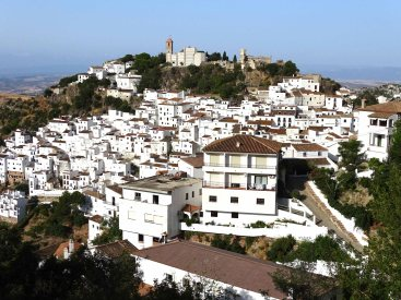 The town of Casares