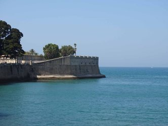 The Baluarte de la Candelaria [Bulwark of Castillo de Santa Catalina]