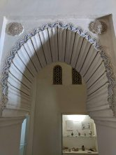 Moorish doorway in the Alcazaba