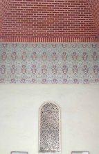 Tile work in the Alcazaba
