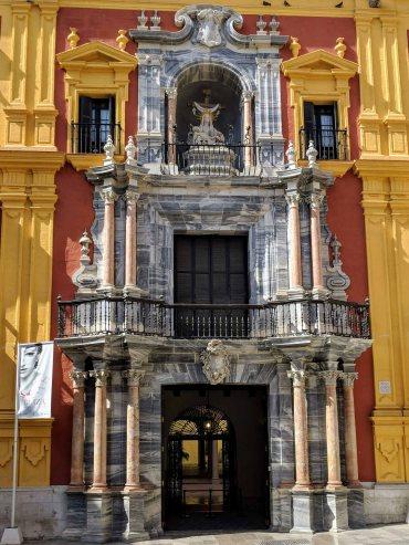 Facade over the doorway