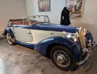 TALBOT-LAGO FRANCIA 1938 6 cyl. 115 hp 4000 cc. Modelo T23