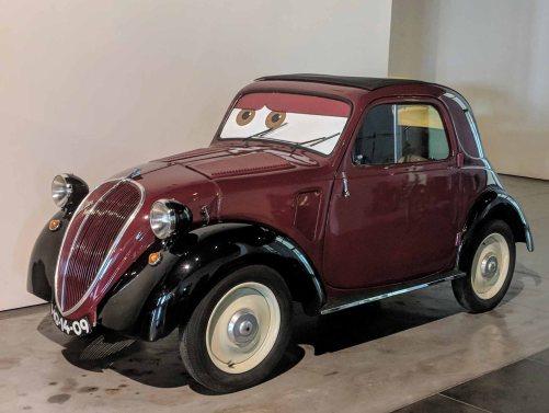 """FIAT ITALIA 1936 4 cyl. 8 hp 570 cc. Modelo 500 """"Topolino"""""""