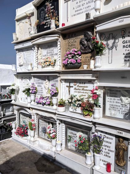 The cemetery of Casares