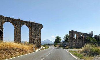 An ancient aqueduct as we left Ronda