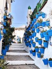 The Blue Pots of Iznájar
