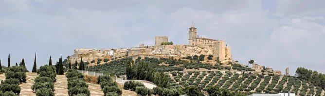 The Fortaleza de la Mota of Alcalá la Real