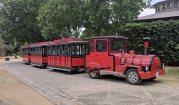 The tour train at Bodegas Gonzalez-Byass