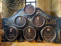 Spanish royal family casks at Bodegas Gonzalez-Byass