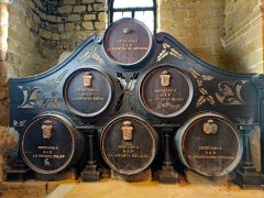 Spanish royal family casks at Bodegas Gonzalez-Byass