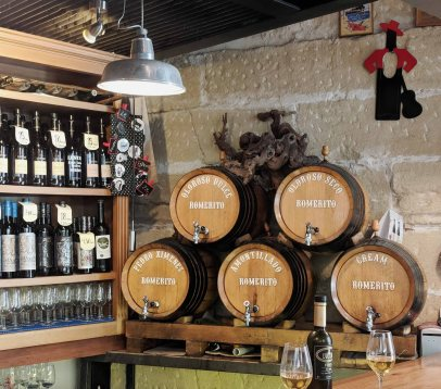 A local tabanco serving sherry from casks from the Bodegas Romerito