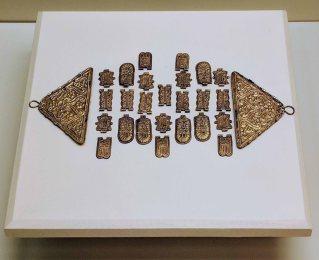 Ancient Roman jewelry on display in the Museo de Cádiz
