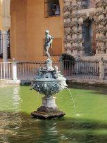 The Garden of the Alcázar of Sevilla