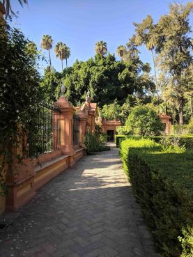 The Garden of the Alcázar of Sevilla