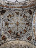 Magnificently painted domed ceiling