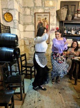 Flamenco at El Guitarrón de San Pedro, Jerez