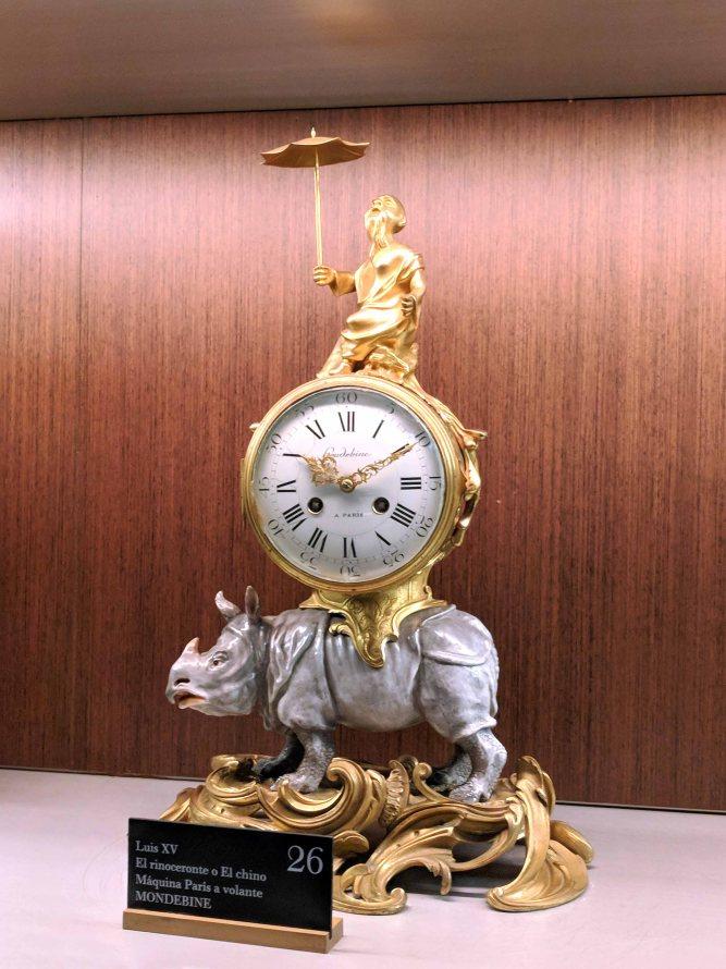 A clock from the Palacio del Tiempo