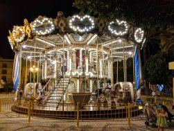 Merry-Go-Round in Plaza del Arenal