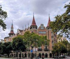 Casa de les Punxes (also La Casa Terradas)