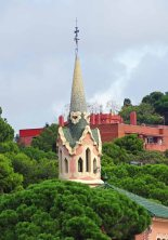 Beautifully tiled turrets - Park Güell
