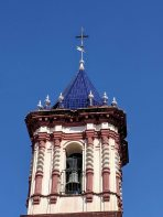 Bell tower of the Church of San Roman and Santa Catalina