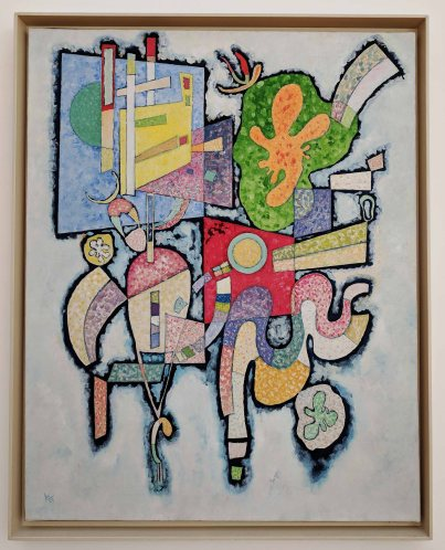 Synthèse plastique des mouvements d'une femme [Plastic synthesis of a woman's movements] Gift of the artist, 1947 by Luigi Russolo - (1885-1947)