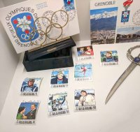 Stamps from the X Olympic Winter Games