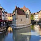 Annecy and Voiron, France