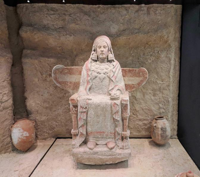 The Lady of Baza,  4th century BC