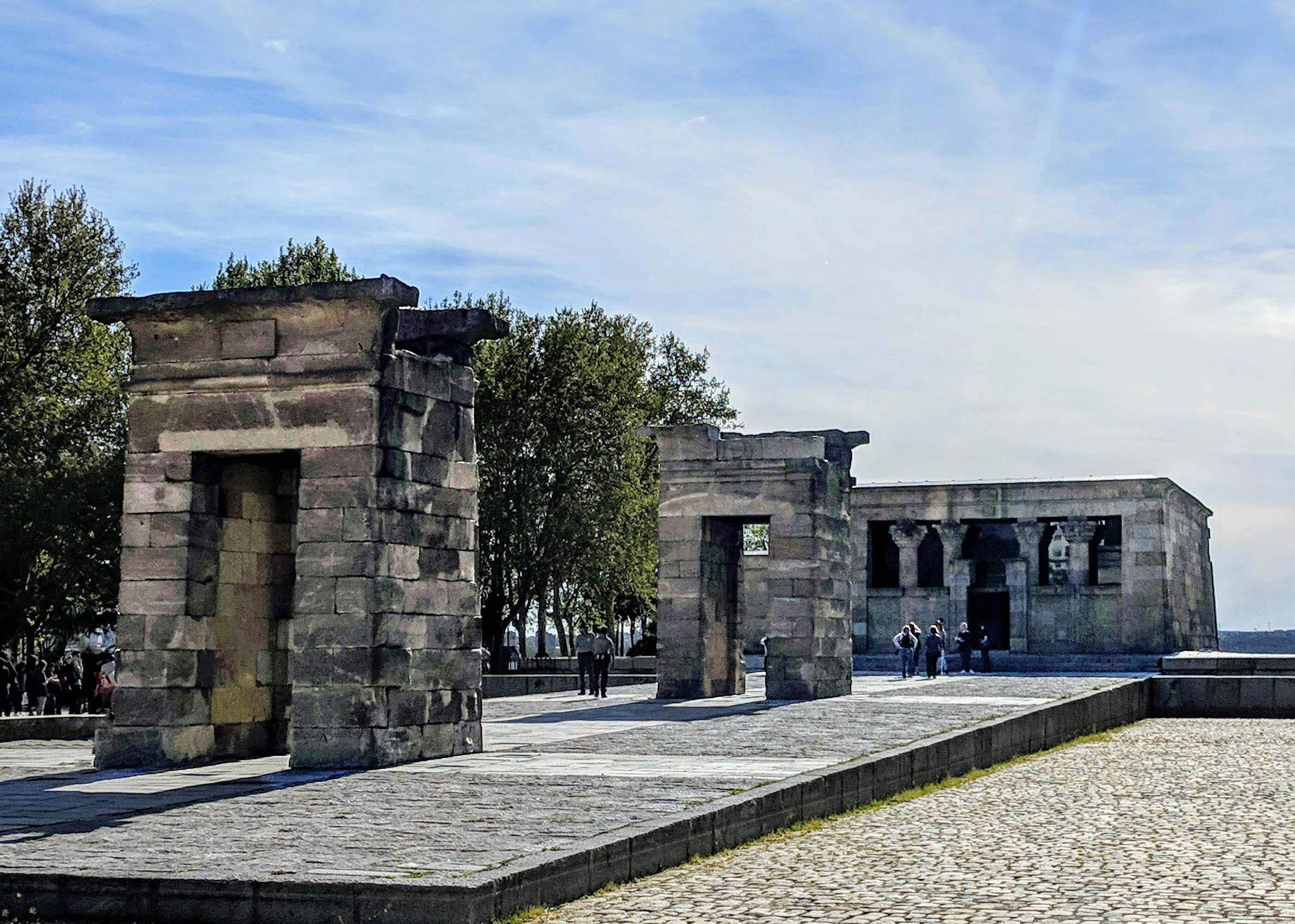 Templo de Debod, parque de la Oeste, Madrid